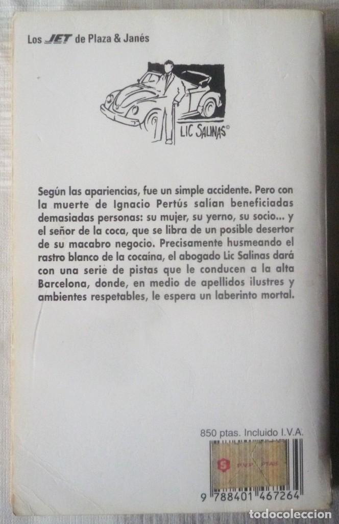 Libros antiguos: EL SEÑOR DE LA COCA. DE PEDRO CASALS - Foto 2 - 111505075
