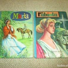 Libros antiguos: MARIA DE JORGE ISAACS Y FABIOLA DE CARDENAL WISEMAN, COLECCIÓN AMABLE, 1962. Lote 111541375