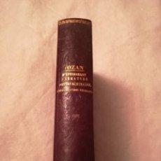 Libros antiguos: D´UNE CAUSE FRÉQUENTE ET PEU CONNUE D´ÉPUISEMENT PRÉMATURÉ, EN FRANCÉS, 1858. Lote 111543399
