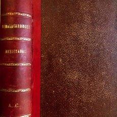Libros antiguos: PÉREZ GALDÓS, BENITO. ZUMALACÁRREGUI [JUNTO CON:] MENDIZABAL. [EPISODIOS NACIONALES]. 1898. . Lote 111578247