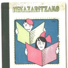 Libros antiguos: NEKAZARITZAKO IRAKURALDIAK. 1933. EN EUSKERA. Lote 111627011
