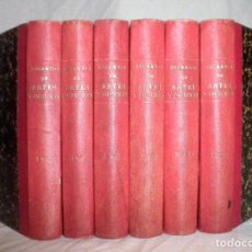 Libros antiguos: SECRETOS DE ARTES Y OFICIOS - AÑO 1827 - COMPLETO - EXCEPCIONAL.. Lote 111628187