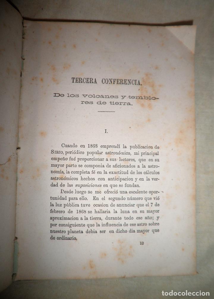 Libros antiguos: ESTUDIO SOBRE LOS TEMBLORES DE LA TIERRA - R.FALB - VALPARAISO AÑO 1877 - ILUSTRADO·MUY RARO. - Foto 7 - 111629379
