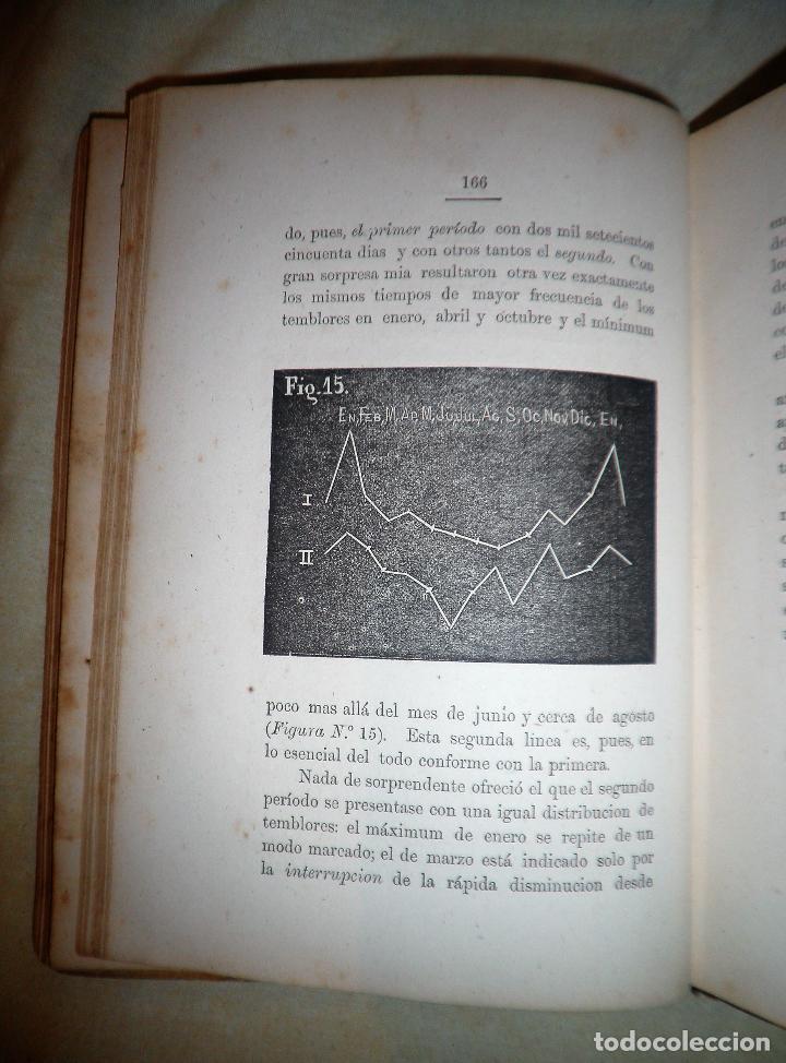 Libros antiguos: ESTUDIO SOBRE LOS TEMBLORES DE LA TIERRA - R.FALB - VALPARAISO AÑO 1877 - ILUSTRADO·MUY RARO. - Foto 8 - 111629379