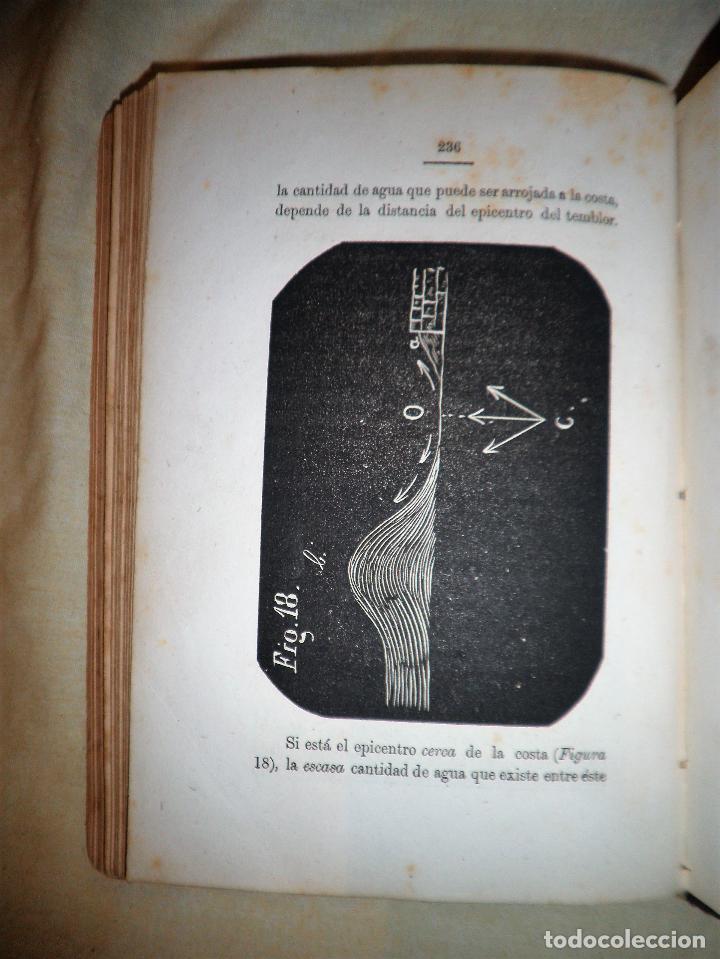 Libros antiguos: ESTUDIO SOBRE LOS TEMBLORES DE LA TIERRA - R.FALB - VALPARAISO AÑO 1877 - ILUSTRADO·MUY RARO. - Foto 9 - 111629379