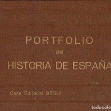Libros antiguos: MANUEL SANDOVAL DEL RÍO : PORTFOLIO DE HISTORIA DE ESPAÑA TOMO I (SEGUÍ, S. F.). Lote 111743867