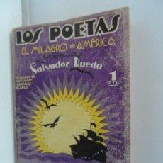 Libros antiguos: LOS POETAS, EL MILAGRO DE AMERICA, SALVADOR RUEDA. Lote 111759871
