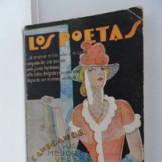 Libros antiguos: LOS POETAS.CAMPOAMOR.PEQUEÑOS POEMAS AÑO 1928 Nº 5. Lote 111761039