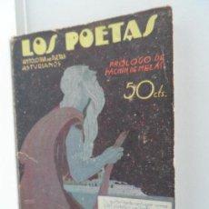 Libros antiguos: LOS POETAS.ANTOLOGIA . UNDECIMA Nº 57 DE 1929. Lote 111761691