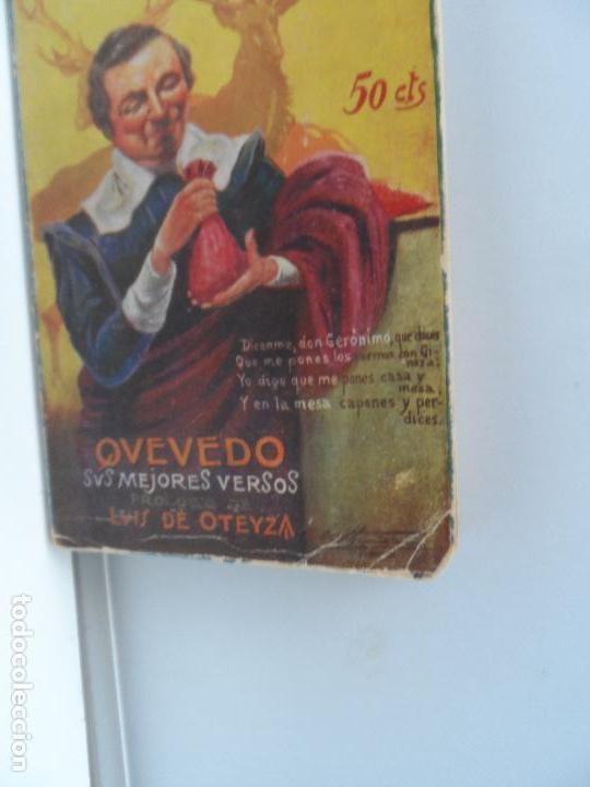 LOS POETAS QUEVEDO SUS MEJORES VERSOS Nº 50 AÑO 1929 (Libros Antiguos, Raros y Curiosos - Bellas artes, ocio y coleccionismo - Otros)