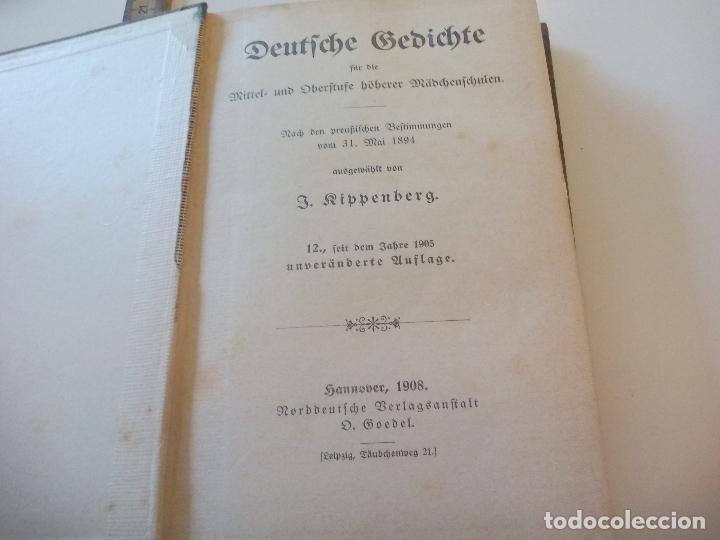 Deutsche Gedichte Katharina Knippenberg Hannover 1908