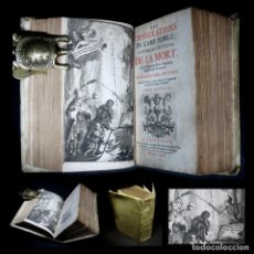 Libros antiguos: AÑO 1724 EL ARTE DEL BIEN MORIR RARO EN COMERCIO 2 TOMOS EN 1 VOLUMEN 2 FRONTISPICIOS Y 2 GRABADOS. Lote 111830799