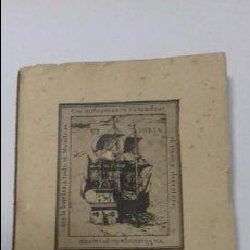 Libros antiguos: JUAN SEBASTIAN EL CANO. CURSO 1935- 1936.. Lote 111849823