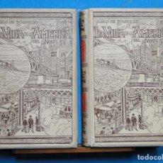 Libros antiguos: LA VIDA EN LA AMERICA DEL NORTE.-PABLO DE ROUSIERS. Lote 111877383