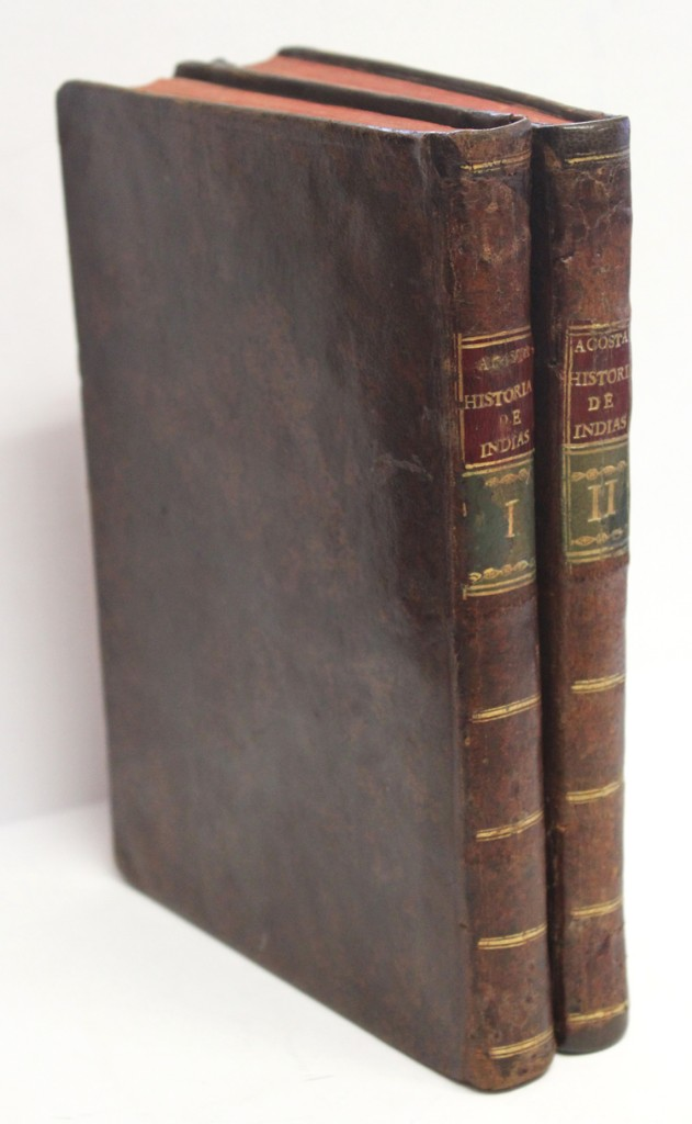 HISTORIA NATURAL Y MORAL DE LAS INDIAS, EN QUE SE TRATAN LAS COSAS NOTABLES DEL CIELO, ELEMENTOS, ME (Libros Antiguos, Raros y Curiosos - Ciencias, Manuales y Oficios - Otros)