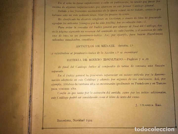 Libros antiguos: CATALOGO GENERAL DE FERRETERIA J. VILASECA BAS - BARCELONA - AÑO 1924 - Foto 4 - 111916663