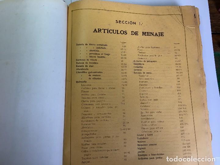 Libros antiguos: CATALOGO GENERAL DE FERRETERIA J. VILASECA BAS - BARCELONA - AÑO 1924 - Foto 5 - 111916663