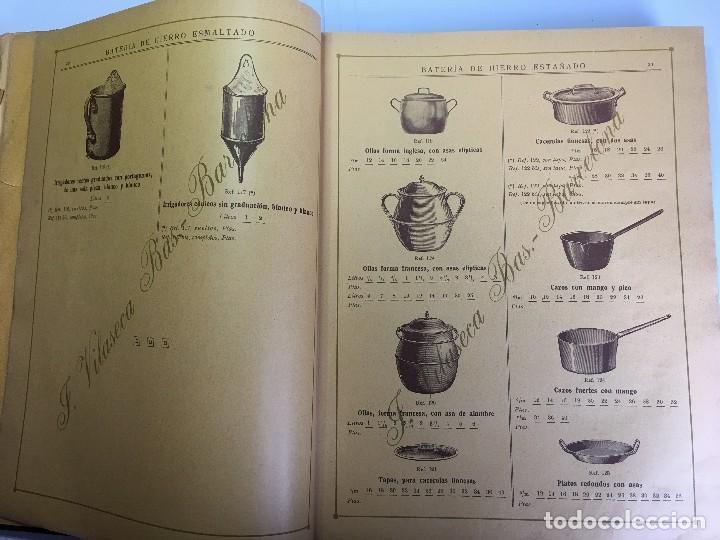 Libros antiguos: CATALOGO GENERAL DE FERRETERIA J. VILASECA BAS - BARCELONA - AÑO 1924 - Foto 6 - 111916663