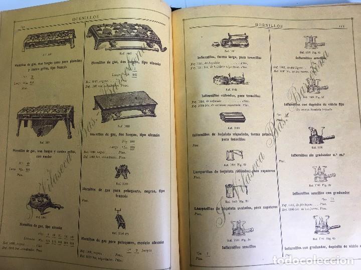 Libros antiguos: CATALOGO GENERAL DE FERRETERIA J. VILASECA BAS - BARCELONA - AÑO 1924 - Foto 8 - 111916663
