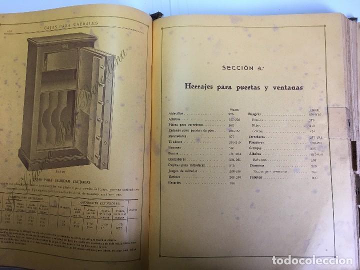 Libros antiguos: CATALOGO GENERAL DE FERRETERIA J. VILASECA BAS - BARCELONA - AÑO 1924 - Foto 11 - 111916663