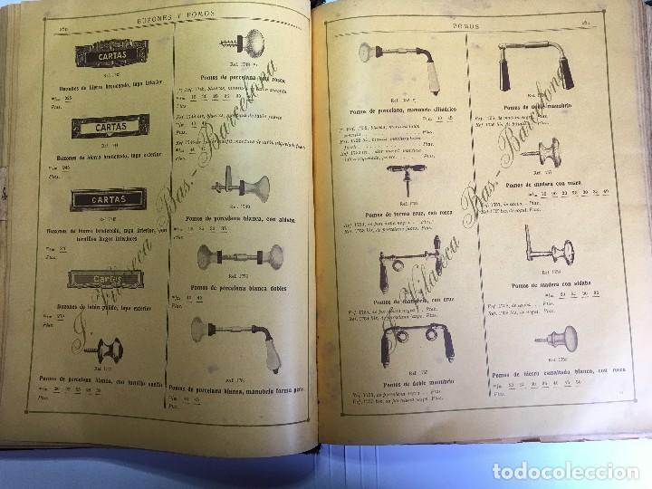 Libros antiguos: CATALOGO GENERAL DE FERRETERIA J. VILASECA BAS - BARCELONA - AÑO 1924 - Foto 12 - 111916663