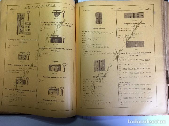 Libros antiguos: CATALOGO GENERAL DE FERRETERIA J. VILASECA BAS - BARCELONA - AÑO 1924 - Foto 17 - 111916663