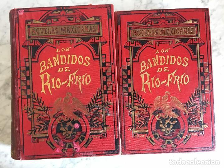 LIBRO LOS BANDIDOS DE RÍO FRIÓ, POR UN INGENIO DE LA CORTE, II TOMOS. (Libros Antiguos, Raros y Curiosos - Bellas artes, ocio y coleccionismo - Otros)