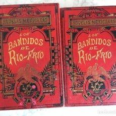 Libros antiguos: LIBRO LOS BANDIDOS DE RÍO FRIÓ, POR UN INGENIO DE LA CORTE, II TOMOS.. Lote 112000831