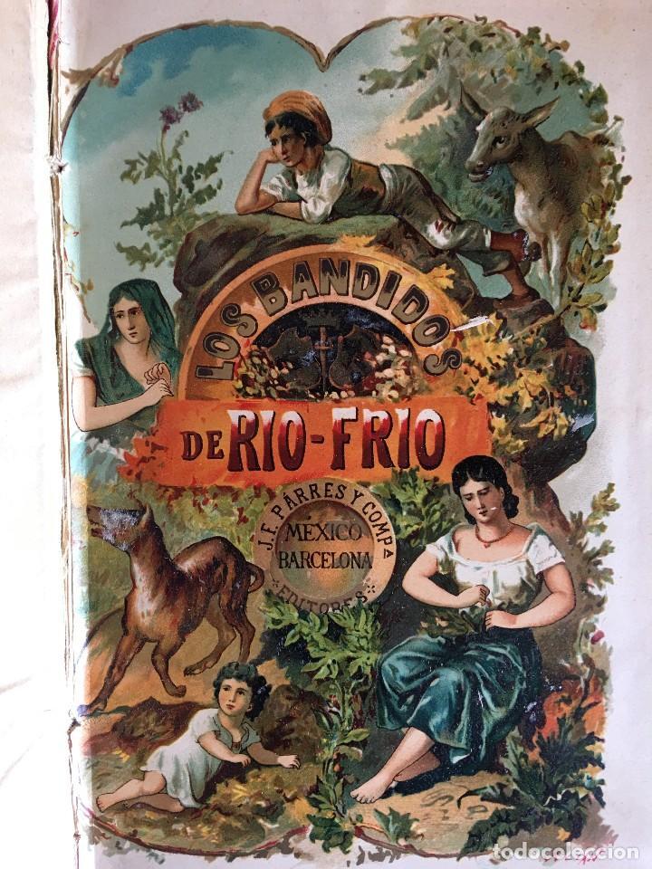 Libros antiguos: LIBRO LOS BANDIDOS DE RÍO FRIÓ, POR UN INGENIO DE LA CORTE, II TOMOS. - Foto 4 - 112000831