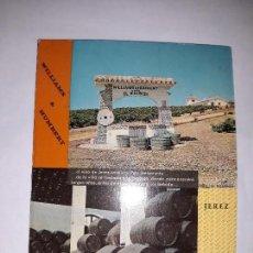 Libros antiguos: LIBROS VINOS PUBLICIDAD - VINOS JEREZ WILLIAMS HUMBERT. Lote 111931187