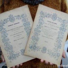 Libros antiguos: TUBAL TRABAJOS PREMIADOS 1919 2 TOMOS 450 GRS 188 Y 32 PG 28 CM . Lote 112038755