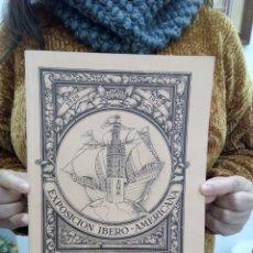 Libros antiguos: TUBAL SEVILLA 1929 EXPOSICION IBERO AMERICANA FACSIMIL 28 CM 400 GRS MAPA PLEGADO . Lote 112040279