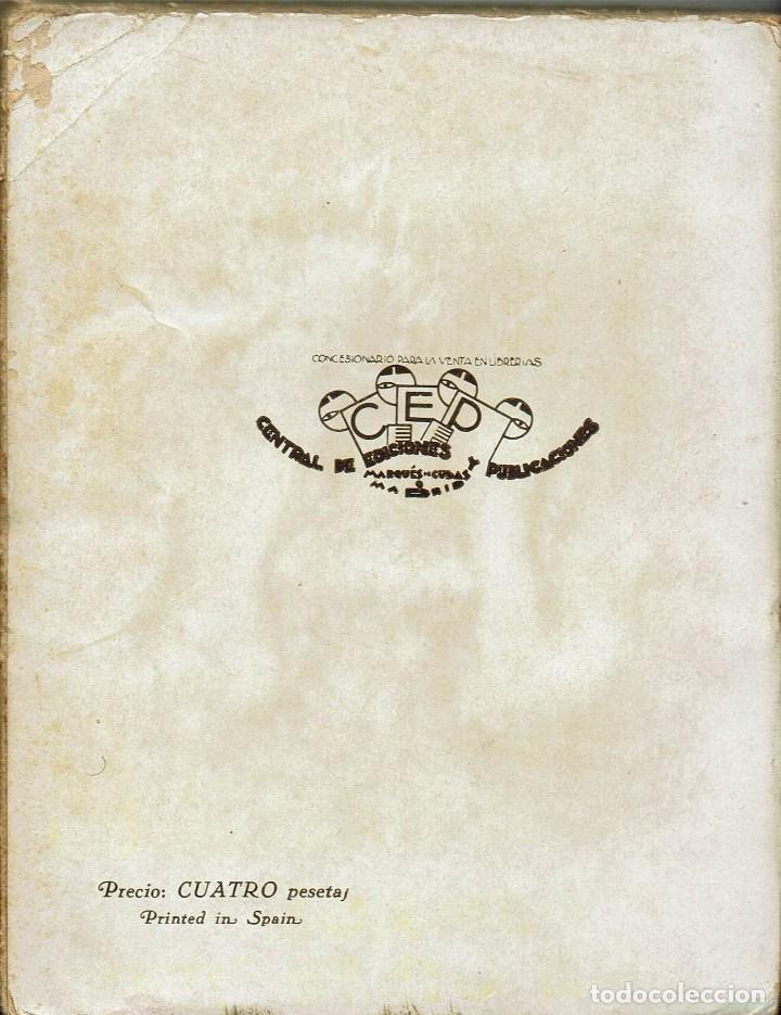 Libros antiguos: NAUFRAGIO EN LA SOMBRA, POR VALENTÍN ANDRÉS ÁLVAREZ. AÑO 1930 (2.3) - Foto 2 - 112065939