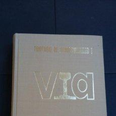 Libros antiguos: TRATADO DE FERROCARRILES VOL. I VIA - ED. RUEDA 1977 - F. OLIVEROS / A. LÓPEZ / M. MEGIA. Lote 112084639
