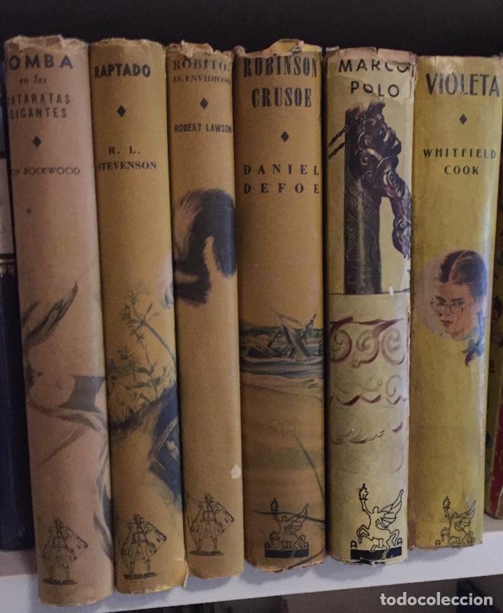 Libros antiguos: Coleccion Robin Hood 6 (3+3)(48€) - Foto 7 - 112145975
