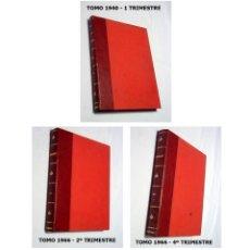 Libros antiguos: LOTE 3 TOMOS ENCUADERNADOS DE LA REVISTA SEMANA. 1940-1966.. Lote 112159795