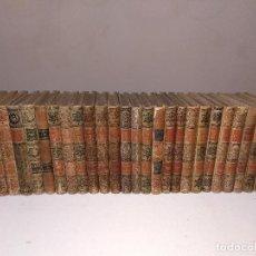 Libros antiguos: ULTIMO PRECIO. LOTE 26 LIBROS EDITORIAL MONTANER Y SIMON. 1891- 1911. LEER DESCRIPCION.. Lote 112168743