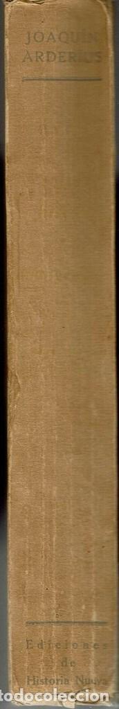 Libros antiguos: JUSTO EL EVANGÉLICO (NOVELA DE SARCASMO SOCIAL Y CRISTIANO), POR JOAQUÍN ARDERÍUS. AÑO 1929. (13.2) - Foto 3 - 112206971