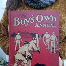Libros antiguos: TUBAL 1930 THE BOY'S OWN ANNUAL 29 CM 2600 GRS 864 PGS. Lote 112218283