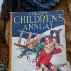 Libros antiguos: TUBAL CUENTO INFANTIL 1930? COLLINS CHILDREN'S ANNUAL 28 CM 1100 GRS 140 PG . Lote 112230303
