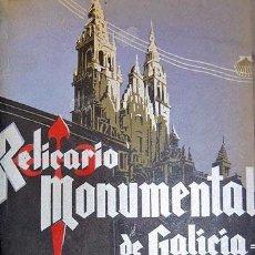 Libros antiguos: CAO MOURE : RELICARIO MONUMENTAL DE GALICIA. (1ª ED, C 1920) LUGO, OURENSE, A CORUÑA, PONTEVEDRA.. Lote 223832817