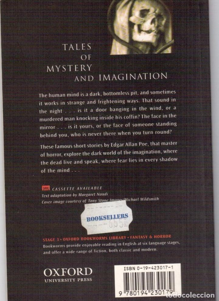 Libros antiguos: TALES OF MYSTERY AND IMAGINATION. EDGAR ALLAN POE. - Foto 2 - 112363227
