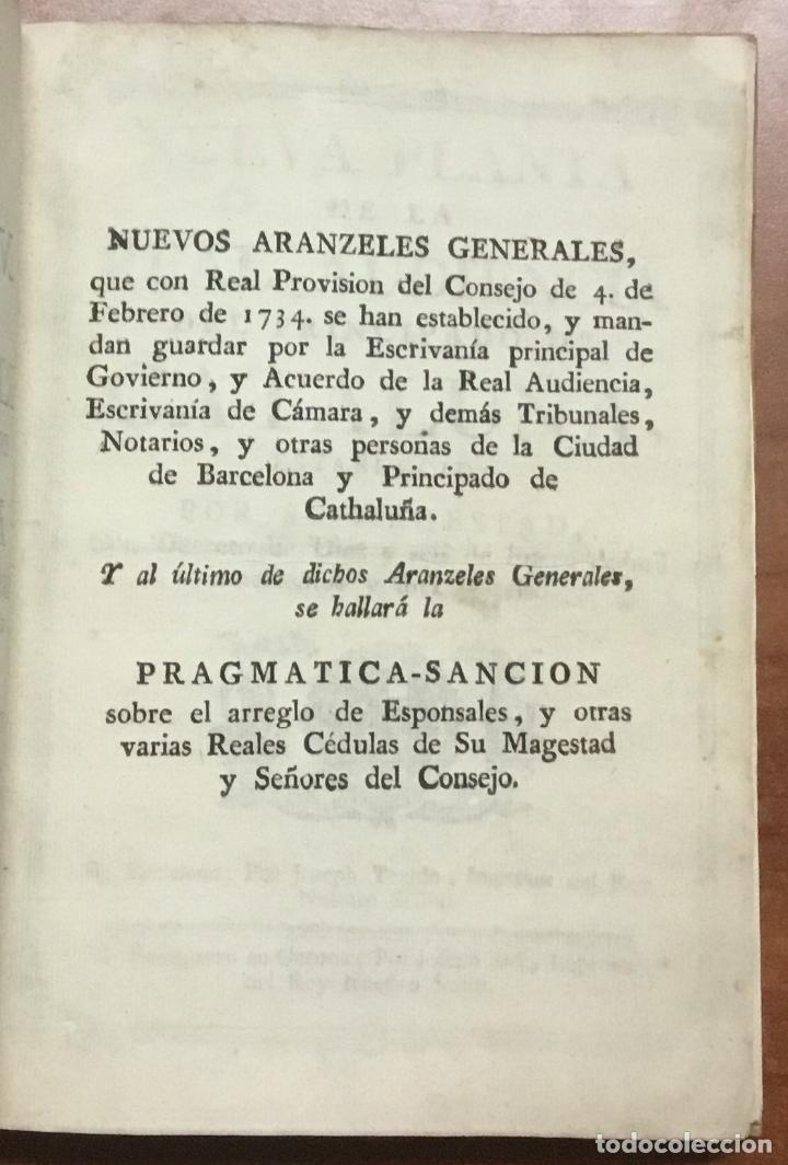 Libros antiguos: NUEVA PLANTA DE LA REAL AUDIENCIA DEL PRINCIPADO DE CATALUÑA, ESTABLECIDA POR SU MAGESTAD, Con Decre - Foto 3 - 112436507