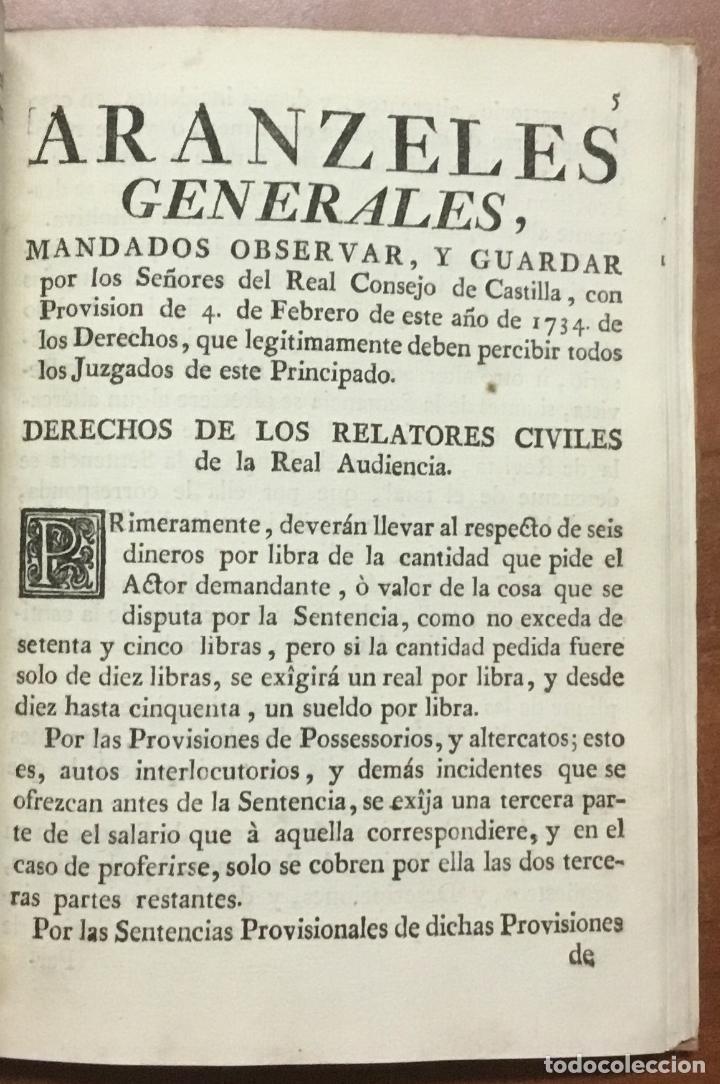 Libros antiguos: NUEVA PLANTA DE LA REAL AUDIENCIA DEL PRINCIPADO DE CATALUÑA, ESTABLECIDA POR SU MAGESTAD, Con Decre - Foto 5 - 112436507