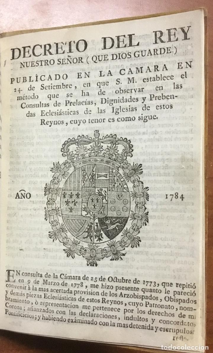 Libros antiguos: NUEVA PLANTA DE LA REAL AUDIENCIA DEL PRINCIPADO DE CATALUÑA, ESTABLECIDA POR SU MAGESTAD, Con Decre - Foto 11 - 112436507