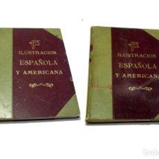Libros antiguos: 1908 LA ILUSTRACIÓN ESPAÑOLA Y AMERICANA. AÑO COMPLETO. 2 TOMOS. TOMO I Y II. 1 Y 2. Lote 112507991