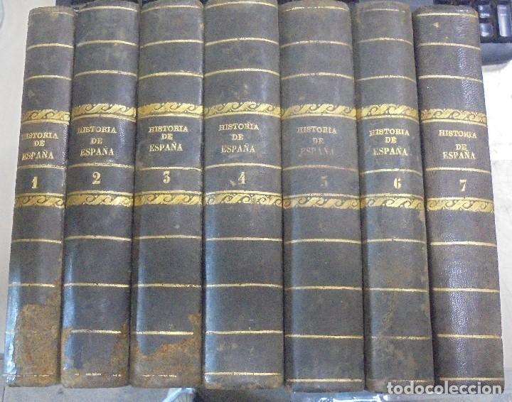 HISTORIA GENERAL DE ESPAÑA Y SUS INDIAS. VICTOR GEBHARDT. 7 TOMOS. 1864. VER. LEER. GRABADOS (Libros Antiguos, Raros y Curiosos - Historia - Otros)