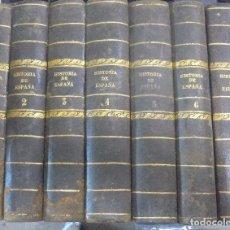 Libros antiguos: HISTORIA GENERAL DE ESPAÑA Y SUS INDIAS. VICTOR GEBHARDT. 7 TOMOS. 1864. VER. LEER. GRABADOS. Lote 112511211