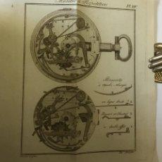 Libros antiguos: HORLOGERIE PRATIQUE, À L'USAGE DES APPRENTIS ET DES AMATEURS... - VIGNIAUX. 1788.. Lote 112436415
