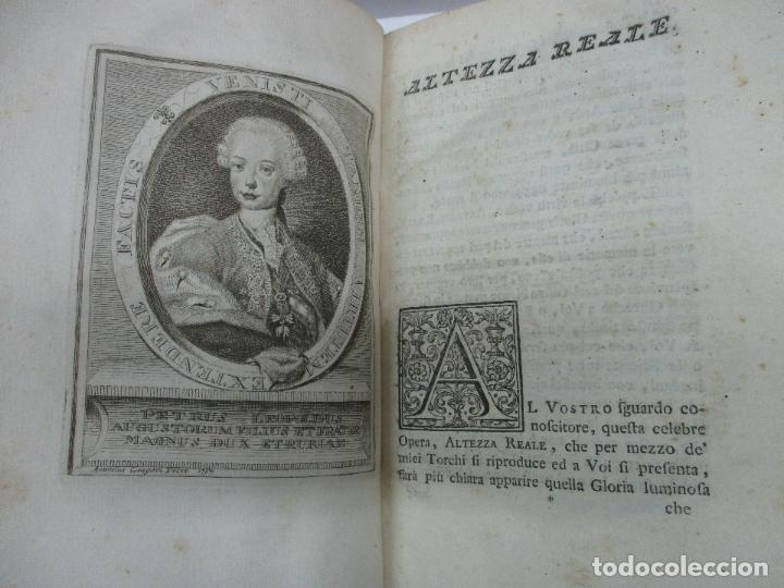 Libros antiguos: VITE DE PIU ECCELLENTI PITTORI SCULTORI ED ARCHITETTI. - VASARI, Giorgio. 1770-1772. 7 VOLS. - Foto 3 - 109021730